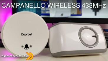 Campanello wireless 433 MHz by Zemismart!