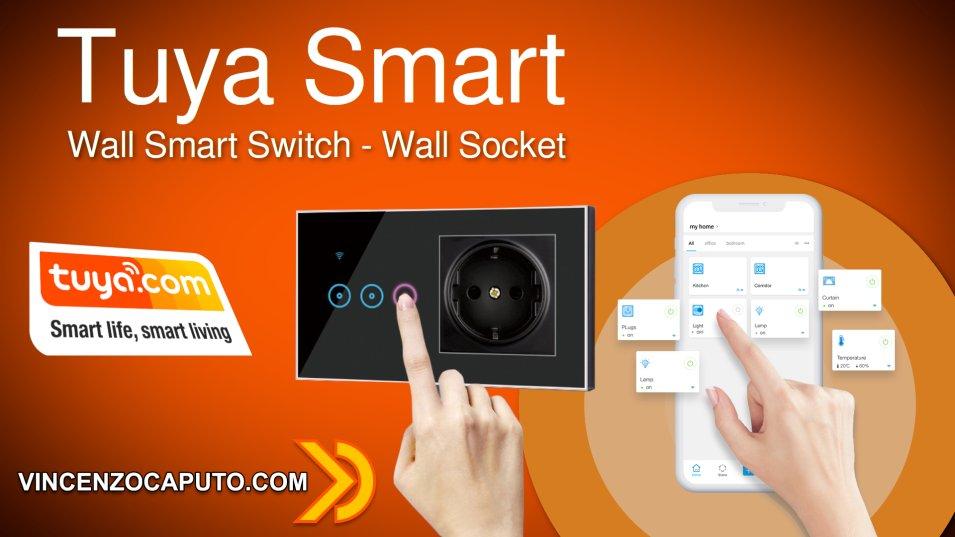 Wall Switch Smart WiFi con presa Schuko integrata by Zemismart