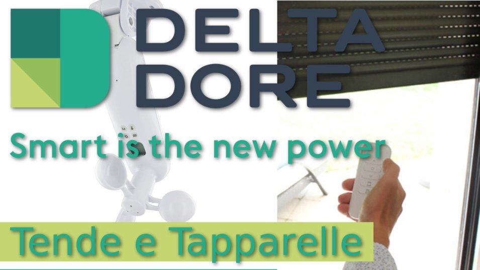 Delta Dore - Comandi domotici per tende e tapparelle