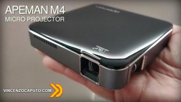 APEMAN M4 - un Microproiettore DLP a Batteria