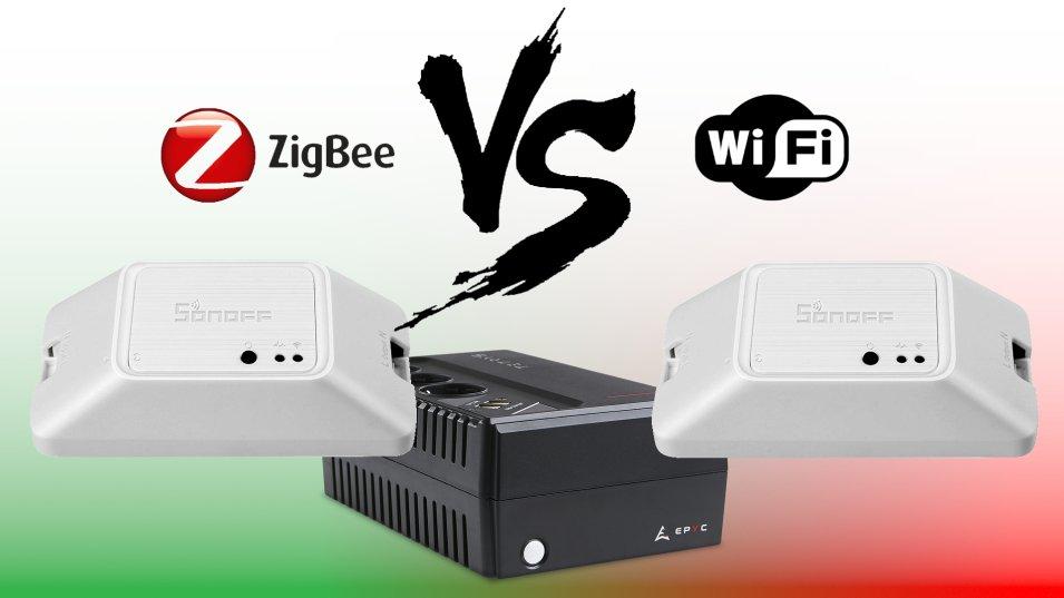 Sonoff R3 ZigBee VS Sonoff R3 WiFi - Consumi a confronto!