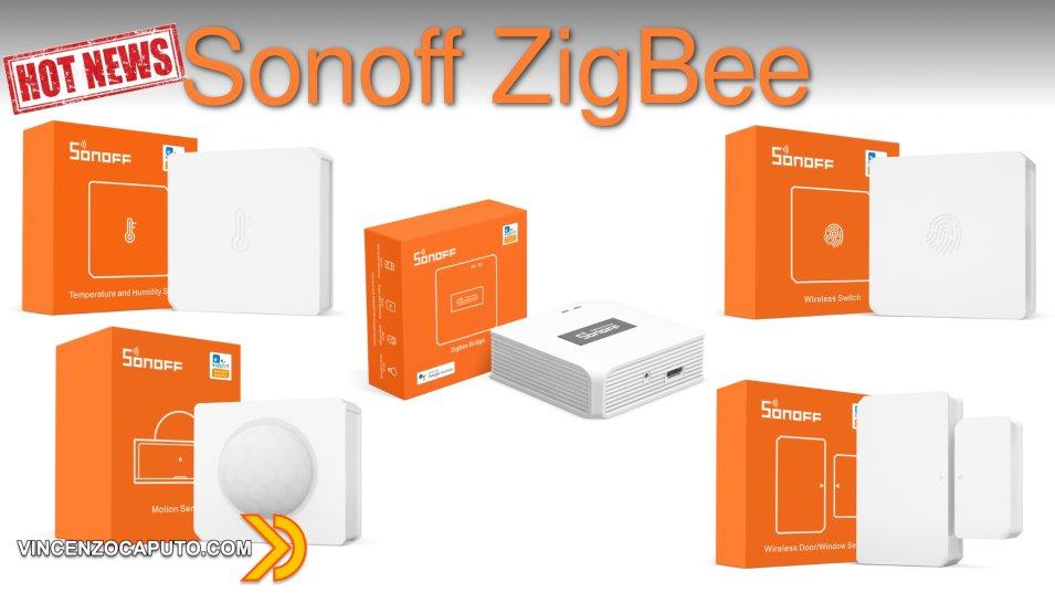 Sonoff Zigbee - Un'intera gamma di nuovi device disponibili sullo store ITEAD