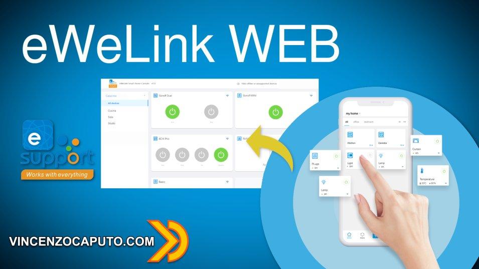 eWeLink Web - Sonoff finalmente a portata di PC