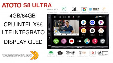 Recensione ATOTO S8 Ultra S8G2A78U - l'autoradio Android definitiva!