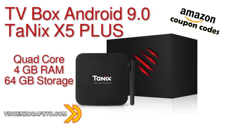 Recensione SMART TV BOX TX5 PLUS by TaNix