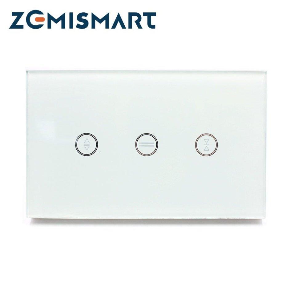 Interruttore smart soft-touch wifi per tende e tapparelle