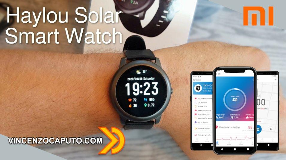 Smart Watch Haylou Solar LS05. Qualcuno ha detto Xiaomi?