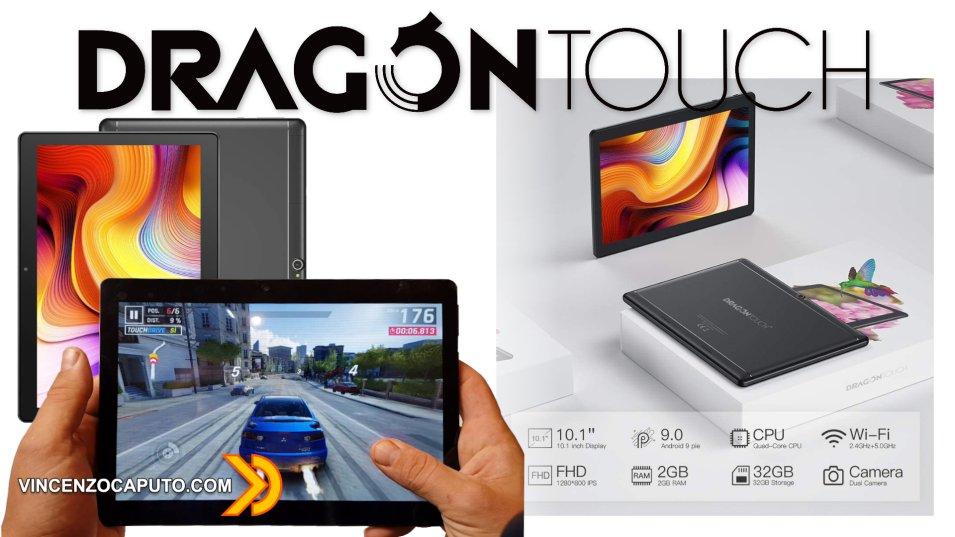 Dragon Touch Notepad K10, un tablet economico adatto allo smart-working!