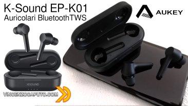 K-Sound EP-K01. I migliori auricolari economici da me testati fino ad oggi!
