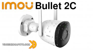 Bullet 2C - la videocamera con IA di IMOU - coupon Amazon all'interno