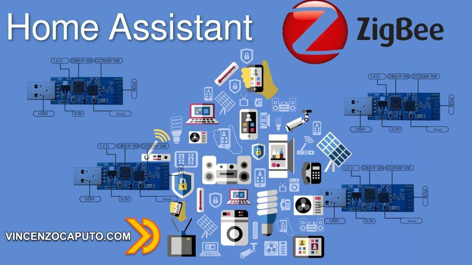 Home Assistant - come usare un gateway ZigBee USB cc2530 + ampli cc2592