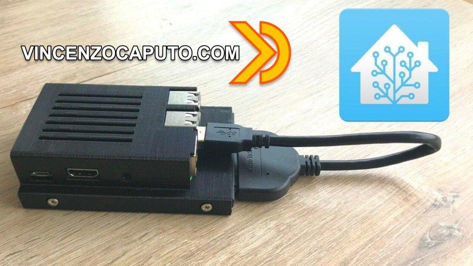 Installare Hassio su Raspberry PI 4 e Hard Disk SSD