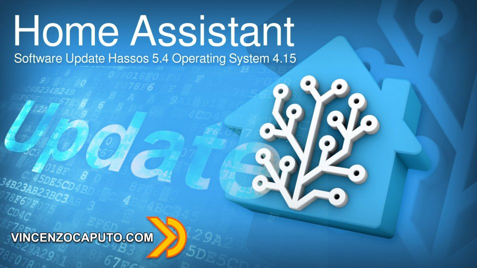 Software Update Hassos 5.4 Operating System 4.15