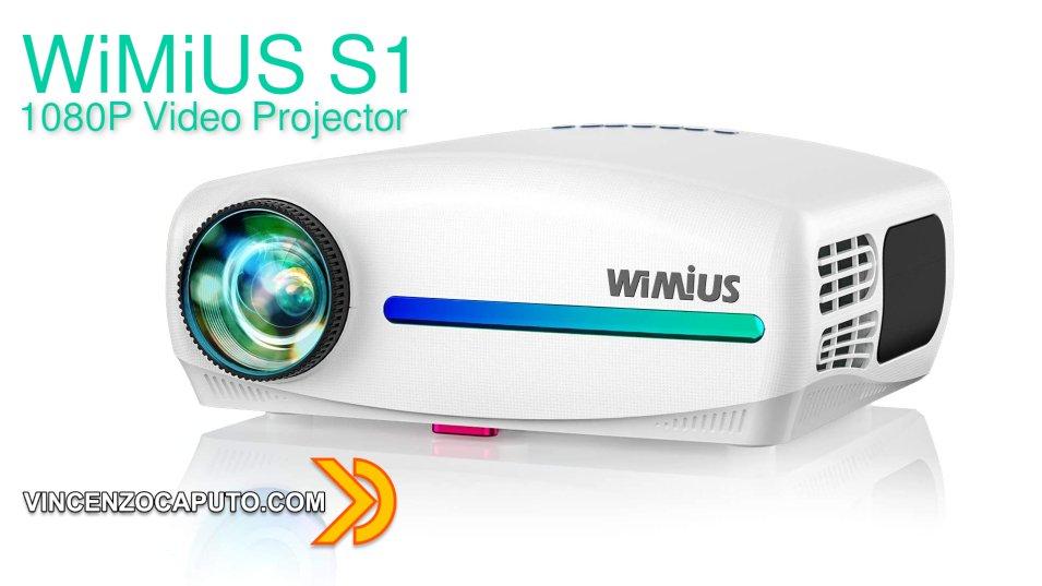 WiMiUS S1 - proiettore FullHD tra i migliori nella fascia economica!