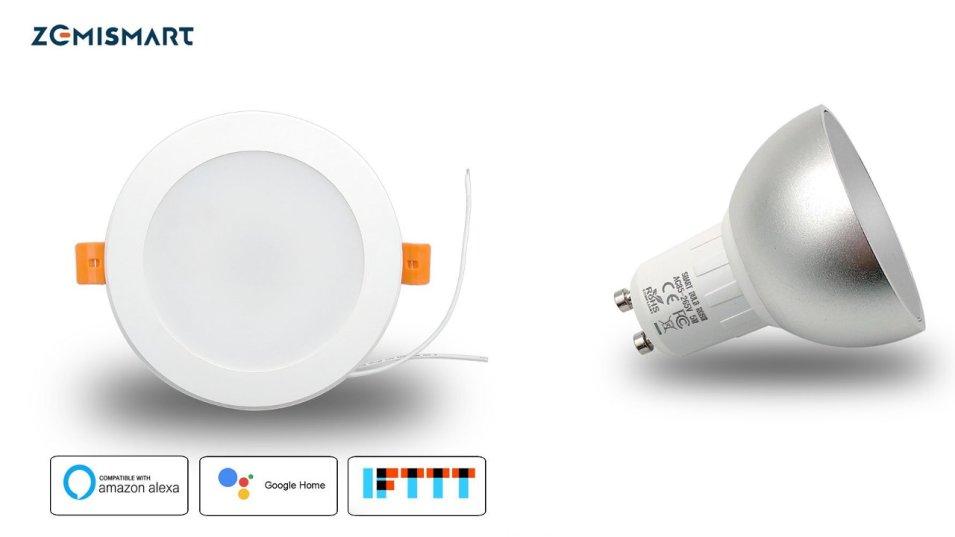 Lampada ad incasso e faretto Smart WiFi by Zemismart - La Prova