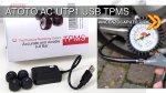 ATOTO AC-UTP1 - Sensori di monitoraggio della Pressione dei Pneumatici