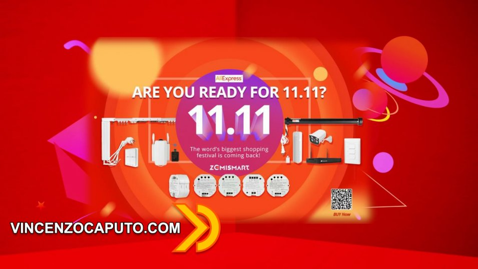 Aliexpress - Arriva il Single Day 11.11 per i prodotti Zemismart