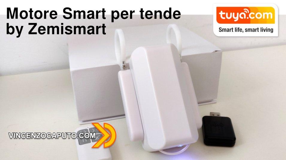Motore per tende Smart by Zemismart - Tuya Smart compatibile