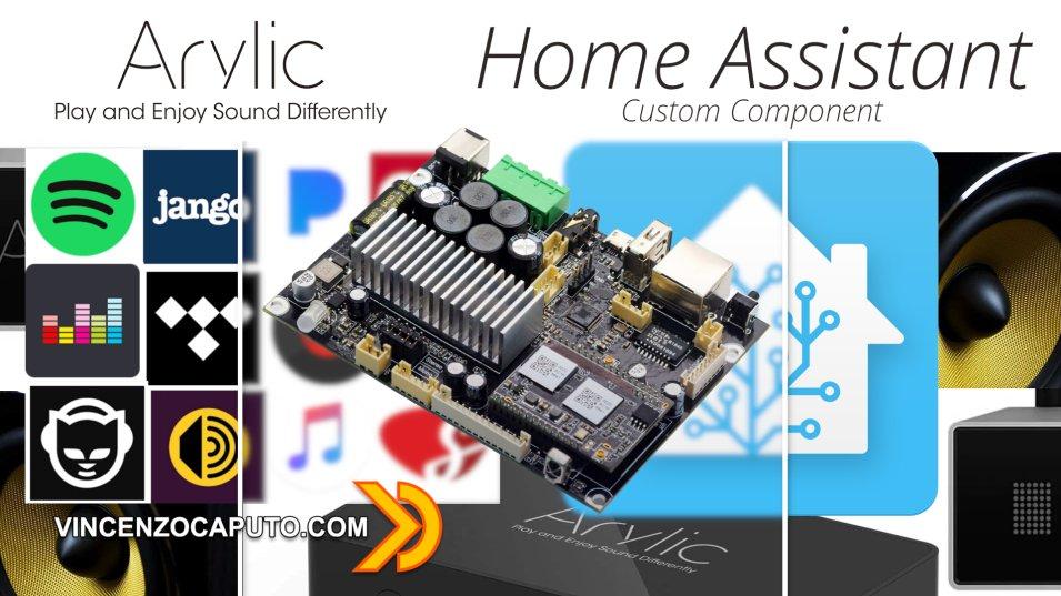 Home Assistant- Integrazione schede Arylic con custom component Linkplay
