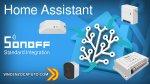 Sonoff integrazione in Home Assistant con Firmware originale e Sonoff Lan