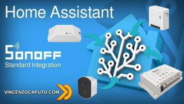 Sonoff integrazione in Home Assistant con Firmware originale e Sonoff Lan