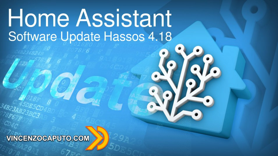 Home Assistant: Software Update Hassos 4.18