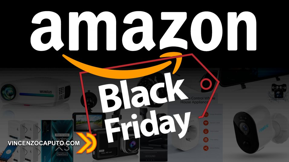 Amazon Black Friday Offerte per la Domotica e non solo