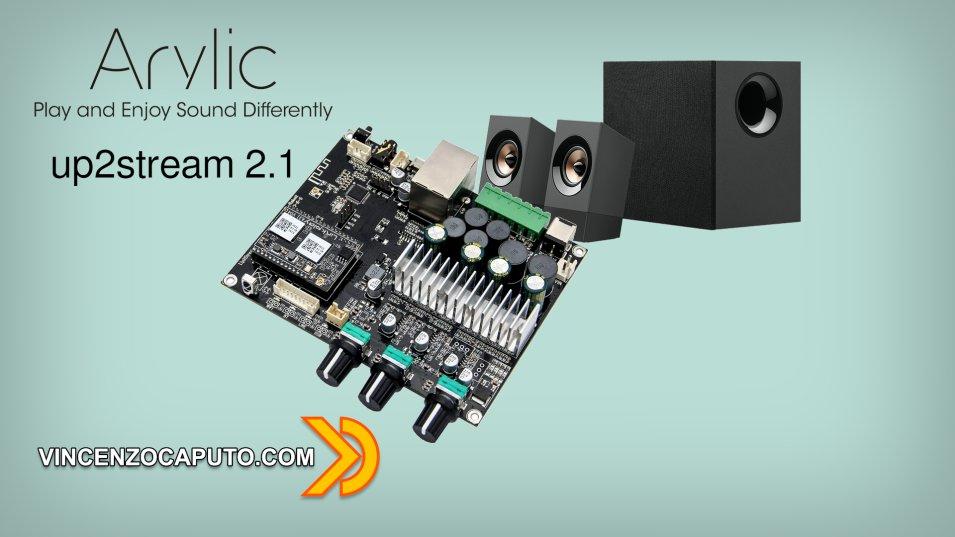Arylic aggiunge il Subwoofer per un 2.1 Smart e Mutiroom