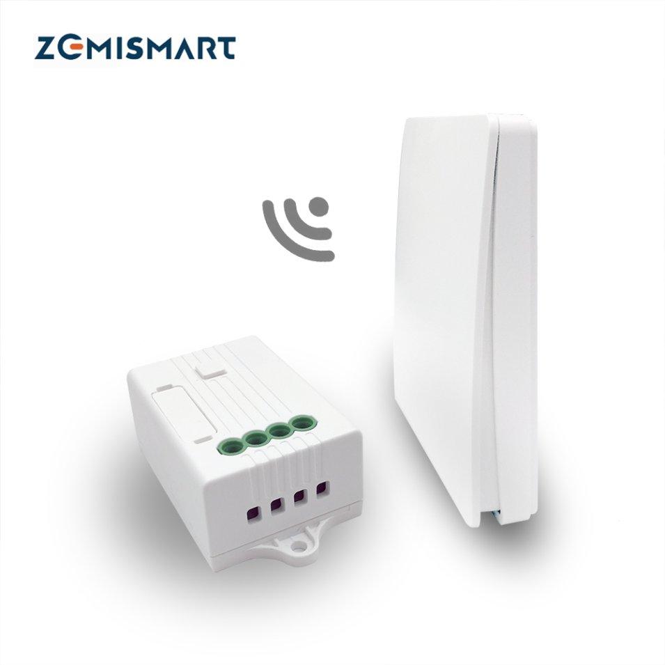 Kinetic Switch WiFi and RF 433 MHz by Zemismart