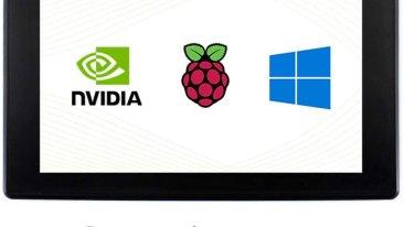 LCD da 7 pollici Touch Screen per Raspberry Pi 4