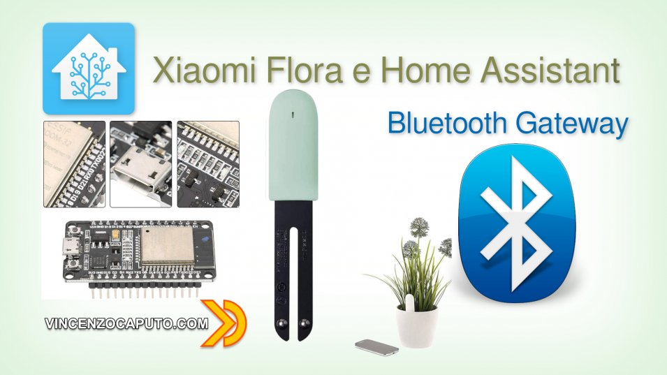 Creare Gateway Bluetooth per Xiaomi mi Flora