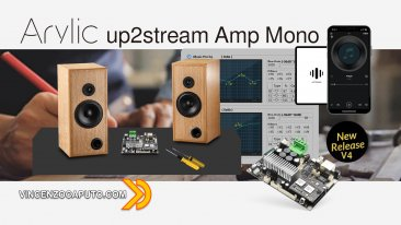Arylic up2stream Amp - mono o stereo a scelta con la nuova versione 4