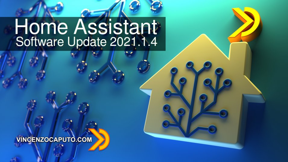 Software Update Home Assistant  2021.1.4