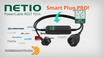 NETIO POWERCABLE REST 101x - non chiamatela Smart Plug!