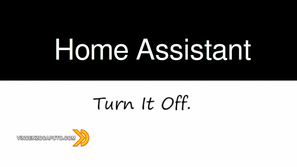 Home Assistant - un Package per spegnere tutto con un click