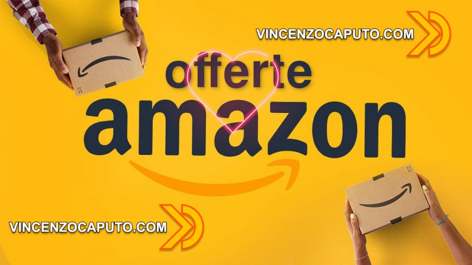 Offerte Amazon per il week end di San Valentino