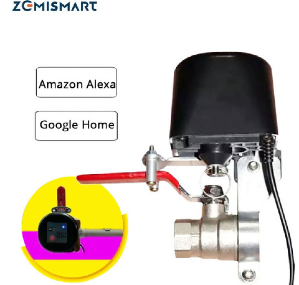 Electronic Smart Valve WiFi by Zemismart