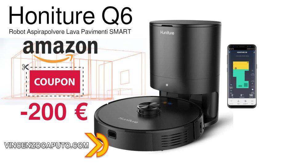 Robot Honiture Q6 a meno 200 euro su prezzo di listino