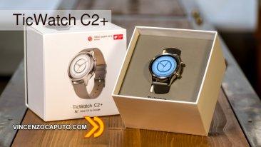 TicWatch C2+ lo smartwatch di Mobvoi che punta all'eleganza
