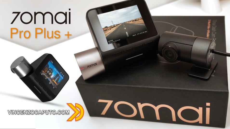 Xiaomi 70mai Dash Cam Pro Plus+  Evoluzione della specie!