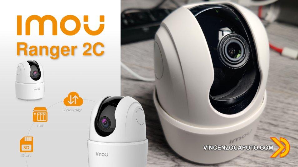 IMOU Ranger 2C - la telecamera ptz economica che mancava