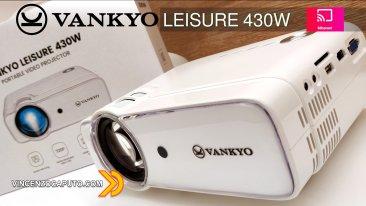 Leisure 430W il Proiettore WiFi Miracast Economico by Vankyo