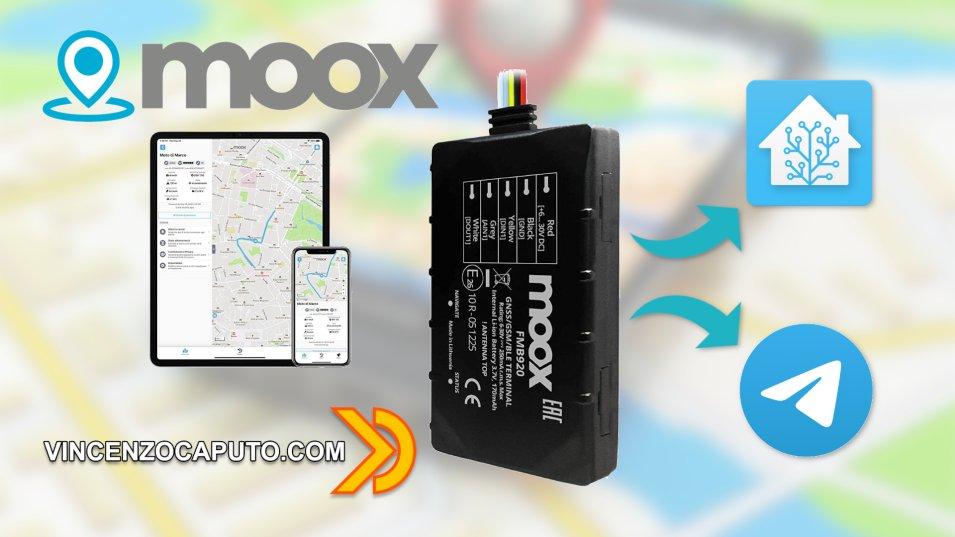 MOOX Track - l'antifurto satellitare compatibile con Home Assistant
