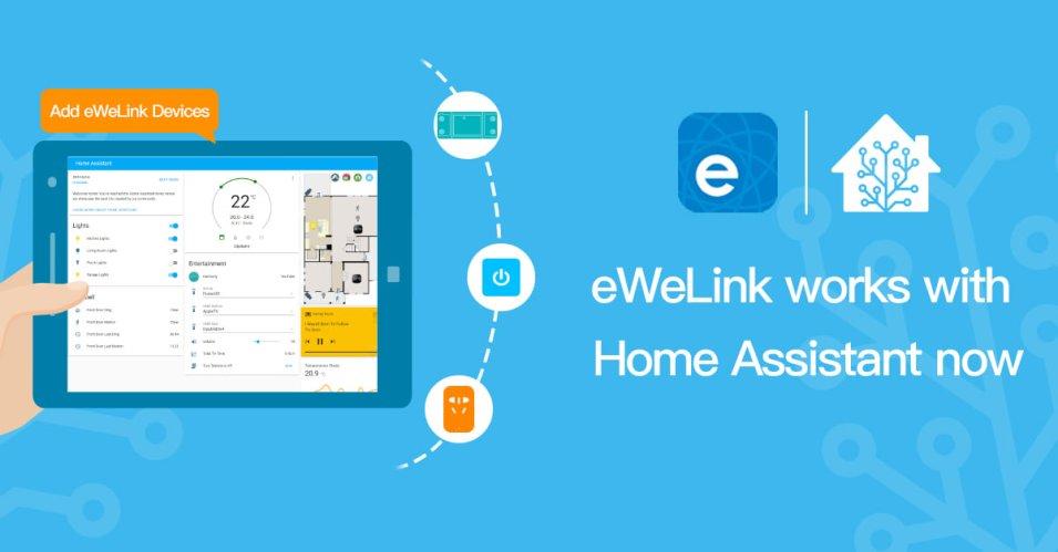 eWeLink e Sonoff ufficialmente su Home Assistant