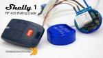 Telecomando Rolling Code e Shelly 1 - ecco come fare!