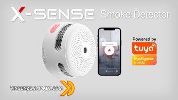 X-Sense Smoke Detector - Allarme incendio Smart con Tuya Smart