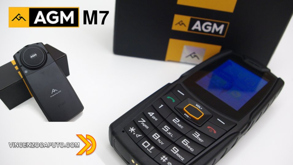 AGM M7, il Rugged Phone con tastiera fisica e audio da urlo!