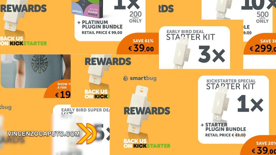 Smartbug - prime indiscrezioni su bundle e prezzi su Kikcstarter
