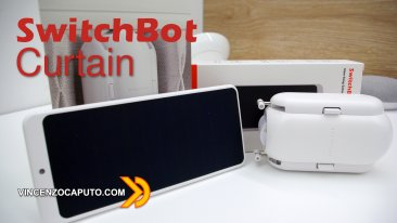 SwitchBot Curtain with Solar Panel - le tende diventano smart in pochi minuti