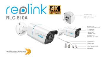 Reolink RLC-810A - la videosorveglianza in 4K